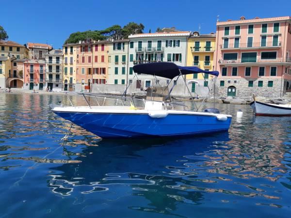 Fiberglass boat CAPELLI 20'