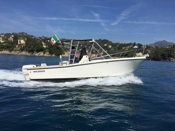 Fiberglass Boat MAKO MARINE 241